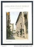 CATALUNYA EN ELS SEGELLS - HOJITA Nº 72 - CASA PADELLÀS - Fogli Ricordo