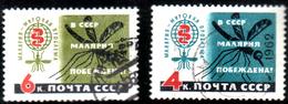 USSR 1962 Malyaria, 2 Postally Used - 1923-1991 USSR