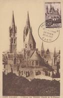 Carte  Maximum  1er  Jour  FRANCE    Abbaye  Aux  Hommes   CAEN  1951 - 1950-59