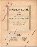 ANNUAIRE - 49 - Département Maine Et Loire - Année 1949 - édition Didot-Bottin - 140 Pages - Telefoonboeken