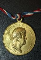 """WW1 Insigne Médaille De Poilu Grande Guerre 14/18 """"Journée De Paris - Rouget De Lisle 1792-1915"""" WWI - 1914-18"""