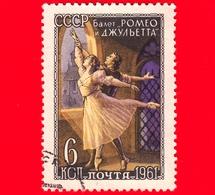 RUSSIA - CCCP - Usato - 1961 - Balletto - Scena Da Romeo E Giulietta  (Prokofev) - 6 - 1923-1991 USSR