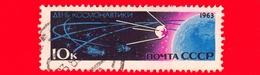RUSSIA - CCCP - Usato - 1963 - Viaggi Nello Spazio - Giornata Della Cosmonautica - 10 - 1923-1991 USSR