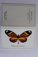 Petit Calendrier 1986  Papillon HELICONIUS NARCACA - Calendriers