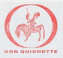Meter Cut Netherlands 1981  Don Quixote - Book - Horse - - Francobolli