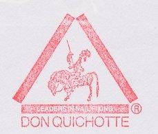 Meter Cut Netherlands 1994 Don Quixote - Book - Horse - - Francobolli