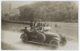 CPA Carte Photo 65 Hautes Pyrénées Voiture Automobile Auto à Lourdes Vers 1920-1930 Citroën Hispano Suiza ? - Lourdes