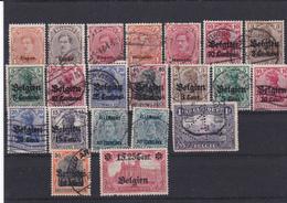 Lotje Belgie Bezeting  Kaart A 763 - Verzamelingen (zonder Album)