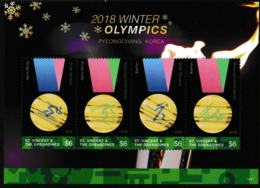 St. Vincent & The Grenadines 2018 Olympic Games In PyeongChang Souvenir Sheet MNH/** (H37) - Winter 2018: Pyeongchang