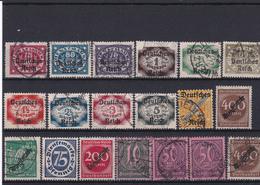 Lotje Duitse Reich  Kaart A 765 - Collections (sans Albums)