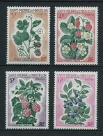 SAINT PIERRE Et MIQUELON 1970 . Série N°s 401 à 404 . Neufs  ** (MNH) . - St.Pierre & Miquelon
