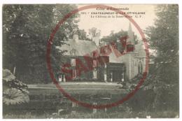 1901 Chateauneuf-D'Ile-et-Vilaine - Le Château De La Basse-Motte - Mr BOUDIN - Germain Fils Aîné - Altri Comuni