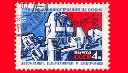 RUSSIA - Usato - 1965 - Materiale E Base Tecnica Del Comunismo - Produzione Di Macchine Utensili - 4 - 1923-1991 USSR