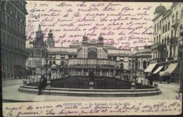 CPA, OSTENDE, Le Kursaal, Vu De La Ville, écrite En 1906,timbre, BELGIQUE - Oostende