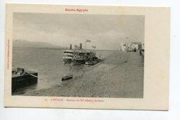 HAUTE EGYPTE 068 LOUXOR No 13 Bateaux Du Nil Allant à Assouan   1900  Dos Non Divisé Bergeret - Louxor