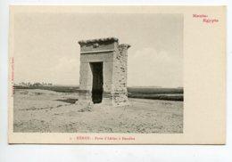 HAUTE EGYPTE 078 KENEH No 03   Dendéra Porte D'Adrien 1900  Dos Non Divisé Bergeret - Altri