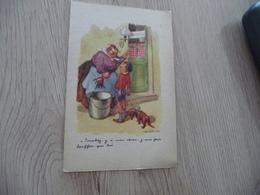 CPA Illustrateur Poulbot éditions Publia Touchez Y'a Mon Chien!!! - Poulbot, F.