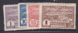URUGUAY    1937         N °    501 / 504        COTE     12 € 00       ( 1231 ) - Uruguay