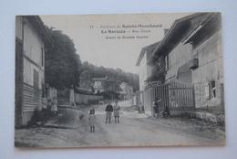 CPA Dpt 51 - N°17 -La Harazee - Rue Haute Avant La Grande Guerre  - 1917 (livraison Gratuit France) - Sainte-Menehould