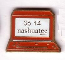 DD265 Pin's Imprimante Minitel 3614 Nashuatec Informatique Ricoh Rex Rotary Gestetner NRG Group Achat Immédiat - Informatique