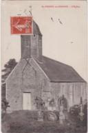 Cpa St PIERRE Du FRESNE (Calvados) - L'Eglise - Frankreich