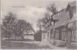 Cpa VILLERS Sur MER (Calvados) - Une Ferme - Villers Sur Mer
