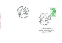 Ariane 1988 Kourou - Lettres & Documents