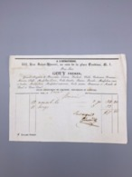 PARIS A L'HERITIERE GOUY FRERES  GRANDS MAGASINS DE NOUVEAUTES 1848 - France