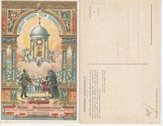 13848) GENOVA CONGRESSO EUCARISTICO 1923 GESU SACRAMENTATO ILLUSTRATORE DINO MORA BELLISSIMA - Genova (Genoa)