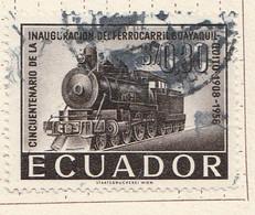 PIA - ECUADOR - 1958 : Cinquantenario Della Ferrovia Guayaquil-Quito   - (Yv  641 ) - Ecuador