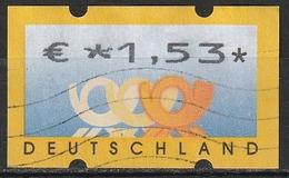 2002 Germania Federale - ATM - Automatenmarken - Mi. N. 34 - € 1,53 - Distributori