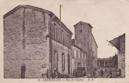 COURCELLES : (54)  Rue De L'église - Autres Communes