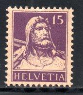 1914 / 1918 - HELVETIA YT 141 NEUF*  - COTE 2.50 € - - Ungebraucht