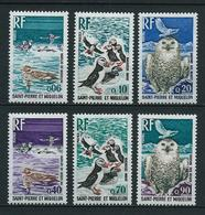 SAINT PIERRE Et MIQUELON 1973 . Série N°s 425 à 430 . Neufs  ** (MNH) . - St.Pierre Et Miquelon