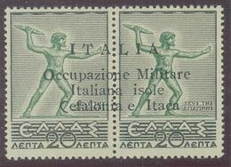 ITALIA - CEFALONIA E ITACA SASS. 13ub NUOVO - Cefalonia & Itaca
