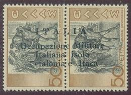 ITALIA - CEFALONIA E ITACA SASS. 15ub NUOVO - Cefalonia & Itaca