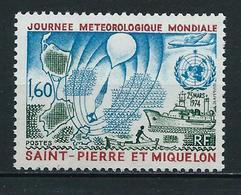 SAINT PIERRE Et MIQUELON 1974 . N° 433 . Neuf  ** (MNH) . - St.Pierre & Miquelon