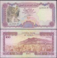 Jemen - Yemen 100 Rials Banknote 1993 UNC Pick 28 Sig.8 (13083 - Banknoten