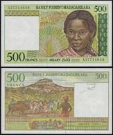 MADAGASKAR - MADAGASCAR 500 Francs (1994) Pick 75 A UNC (1)  (14374 - Banconote