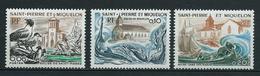 SAINT PIERRE Et MIQUELON 1974 . N°s 438 , 439 Et 440 . Neufs  ** (MNH) . - St.Pierre & Miquelon