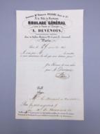 PARIS  ROULAGE GENERAL A.DEVENOIS 1843 - France