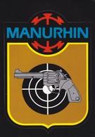 Autocollant Publicitaire - Tir Sportif - Armes - Manurhin - Stickers