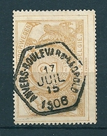 TR 27 Gestempeld ANVERS BOULEVARD LEOPOLD - 1895-1913