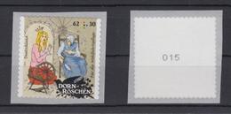 Bund 3136 SELBSTKLEBEND Aus Rolle Ungerade Nummer Dornröschen 62+ 30 Cent ** - BRD