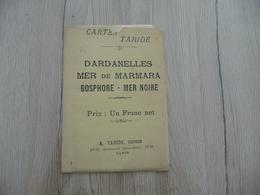 Carte Géographique Taride Paris Dardanelles Mer De Marmara Bosphore Mer Noire - Cartes Géographiques