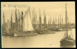 België Ansichtkaart Heyst Aan Zee De Visschershaven Ongebruikt - Heist
