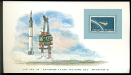 History Of Transportation USA Project Mercury Card - Non Classés
