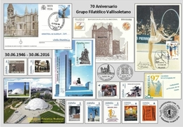 GRUPO FILATÉLICO VALLISOLETANO.TARJETA  PREFRANQUEADA ESPAÑA. TARIFA A. ENTERO POSTAL. Postcard Paid Postage. - Enteros Postales