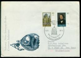 DDR 1990 FDC Wiederaufbau Der Neuen Synagoge Berlin Mi 3358-3359 - FDC: Enveloppes