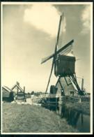 Nederland Briefkaart G 285 F Molenserie Nr. 6 Alphen A/d Rijn Bewoonde Wipwatermolen - Postal Stationery